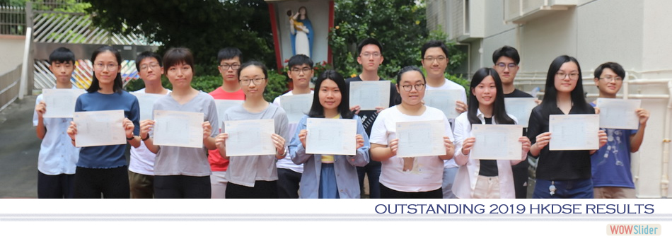 Outstanding 2019 HKDSE results